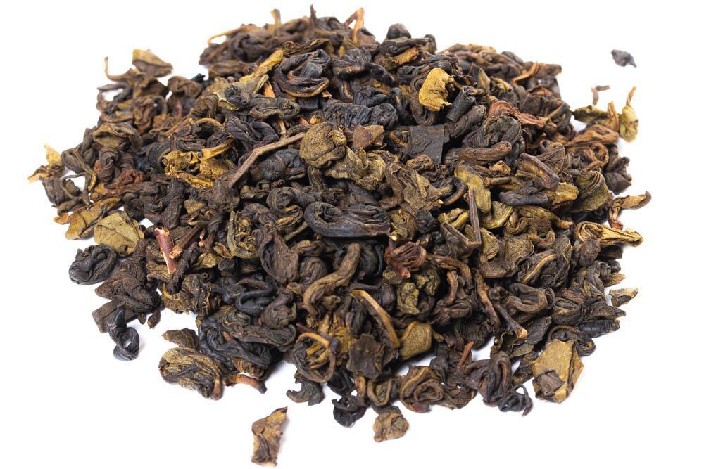 Фруктовый зеленый чай