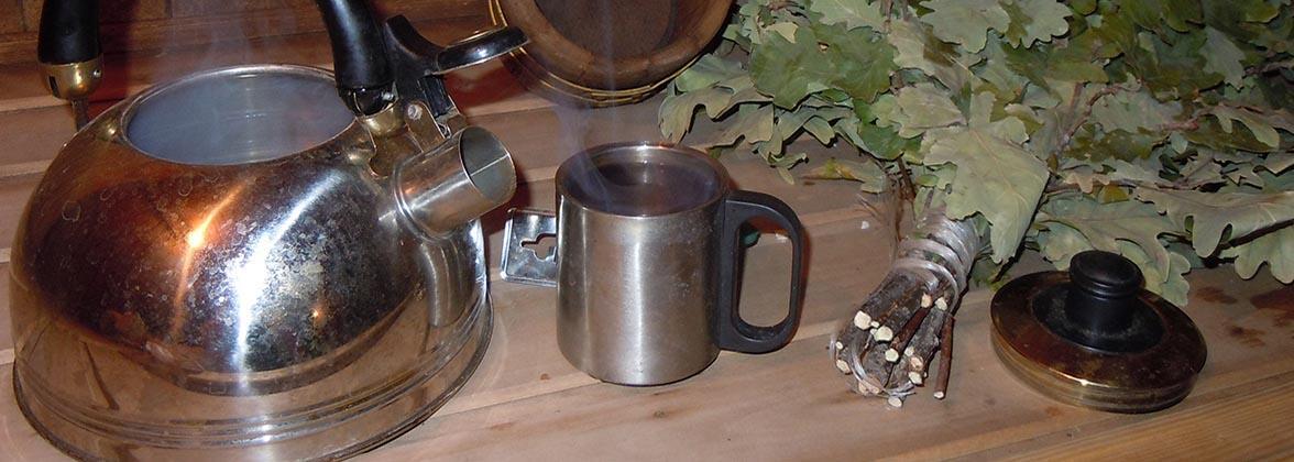 Який чай пити в бані