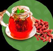 Чай с ягод годжи