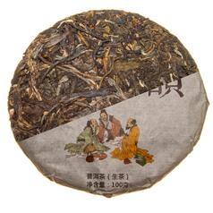 Шен Пу Ер «Три мудреця Сань-Сін» 100 гр., 2013 р