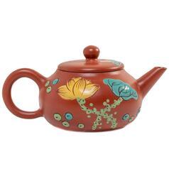 "Иссинский чайник ""Шуй Пин Ху"" Цветы, 150 мл."