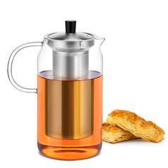 Чайник-заварник Sama Doyo S-046, 1200 мл