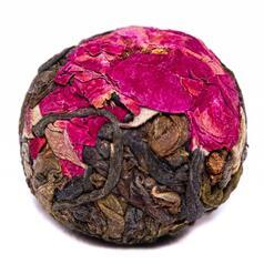Шен Пу Эр Драконье яйцо с розой 2016г.