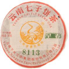 Шен пуэр Ся Гуань «Ранняя Весна 8113» 2011 г, 357 г