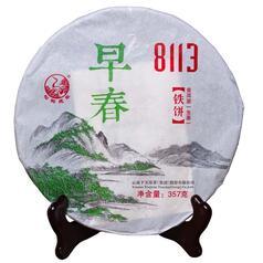 Шен пуэр Ся Гуань «Ранняя Весна 8113» 2015 г, 357 г