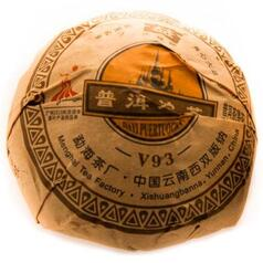 Шу пуэр Мэнхай «Да И V93» 2009 г, 100 г