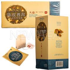 Шу пуер Менхай Да І з цедрою апельсина, 25 пакетиків