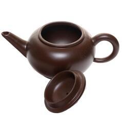 """Иссинский чайник """"Темная сторона глины"""", 175 мл."""