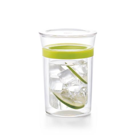 Двостінна склянка Sama Doyo S-082 з пластиковим кільцем, 300 мл