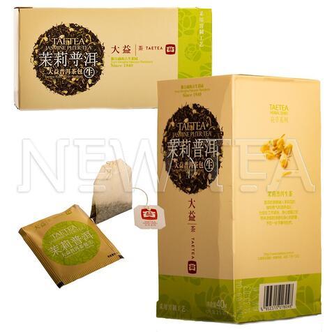 Шу Пуэр Менхай Да И с жасмином (25 пакетиков)