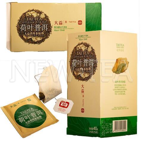Шу Пуер Менхай Да І з лотосом, 25 пакетиків