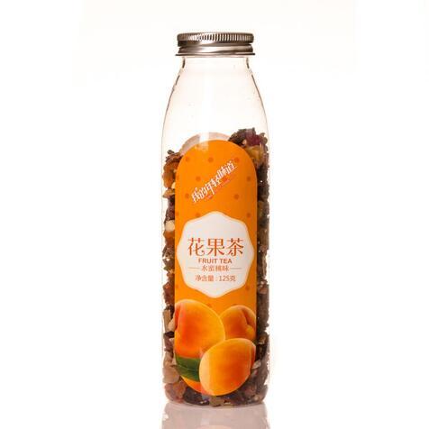 Персик в бутылке