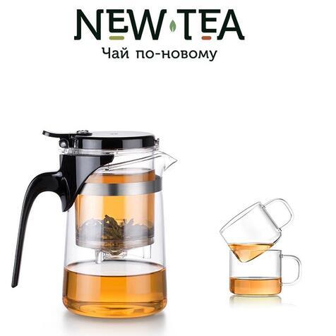 Чайник-заварник Sama Doyo SAG-08 (500 мл) + 2 чашки Sama Doyo (150 мл)