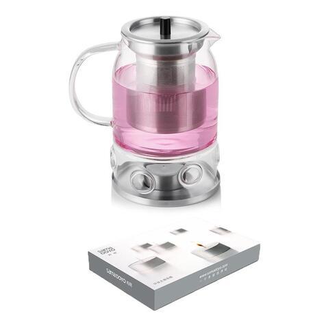 Чайник-заварник зі свічкою Sama Doyo S-071, 600 мл