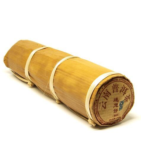 Шу Пу Ер в бамбуці 200 гр., 2017р.