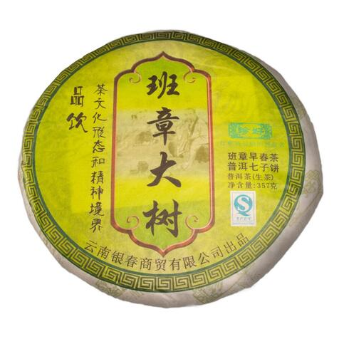 Шен пуер Бан Чжан («Рання весна», старі дерева), 2012 р., 357 г