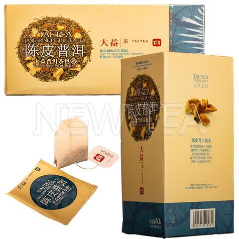 Шу Пуэр Менхай Да И с апельсиновой цедрой (25 пакетиков)
