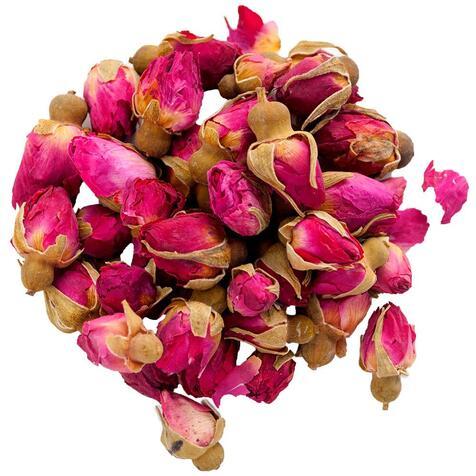 Рожеві бутони троянди
