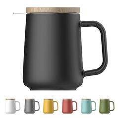 Чашка-заварник U Brewing Mug Wood, 500мл.